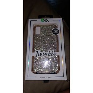 I phone XS MAX case mate twinkle case brand new!